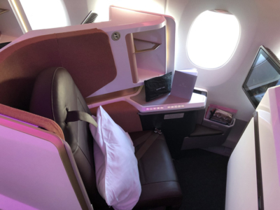 Virgin Atlantic new Upper Class A350 seat review