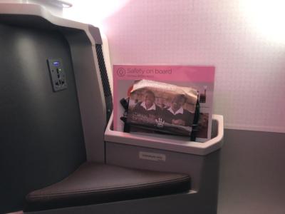 Virgin Atlantic new Upper Class A350 plug
