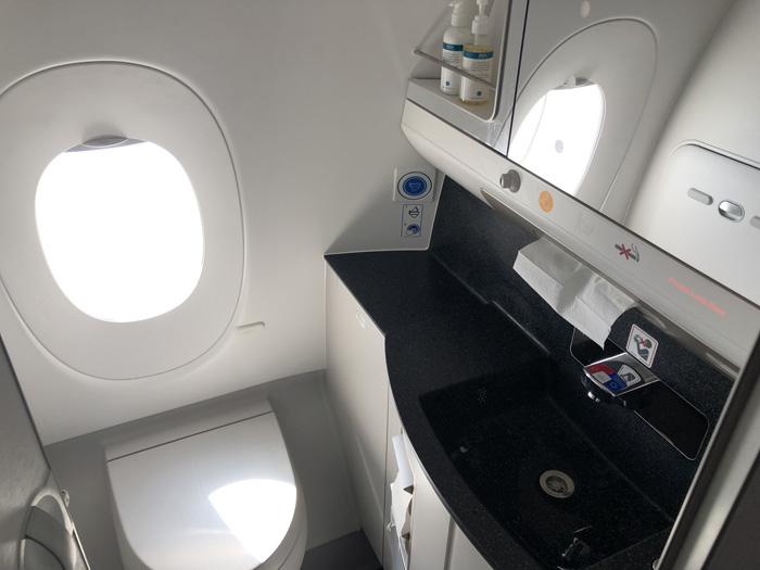 Virgin Atlantic new Upper Class A350 toilet
