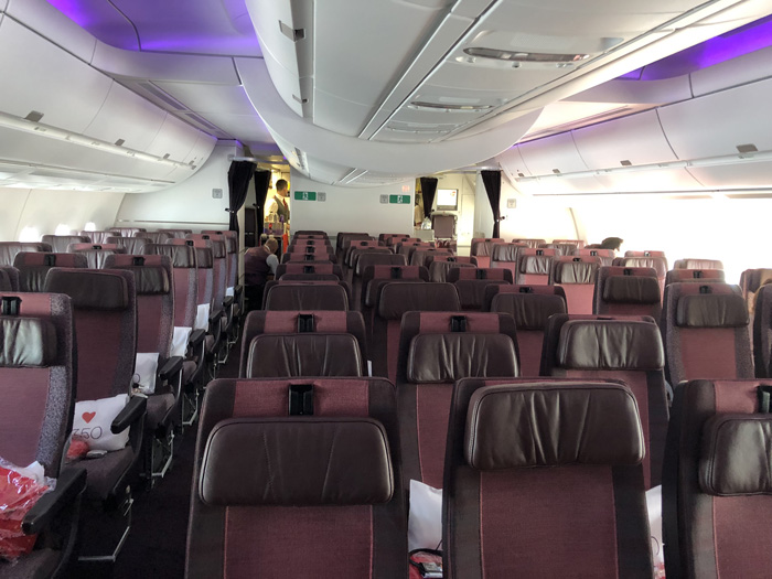 Virgin Atlantic A350 economy