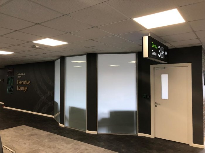 Ireland West lounge Knock Airport