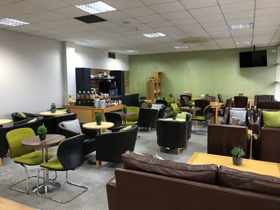 Norwich Airport Executive Lounge review