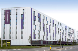 Premier Inn Heathrow Terminal 4 exterior