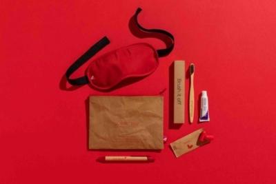 Virgin Atlantic sustainable amenity kit goodie bag