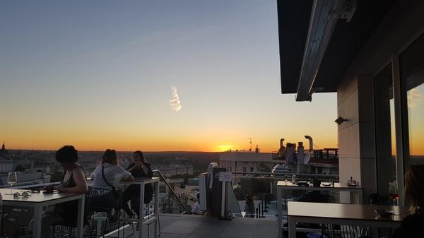 Aloft Madrid Gran Via Rooftop 1