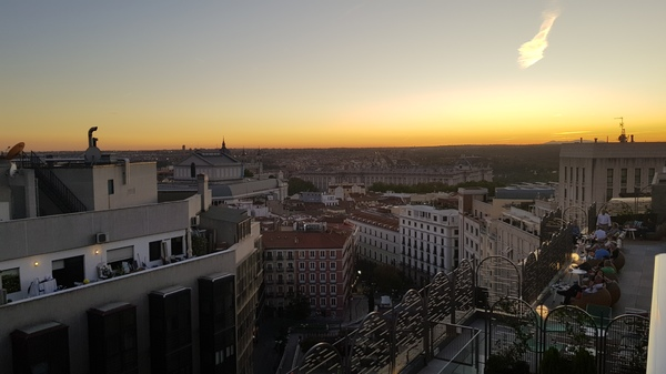 Aloft Madrid Gran Via Rooftop 2