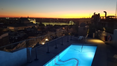 Aloft Madrid Gran Via pool