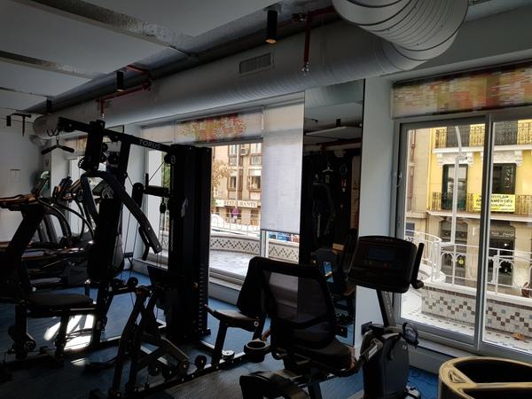 Aloft Madrid Gran Via gym