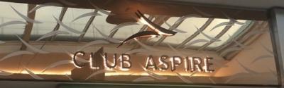 Club Aspire Gatwick South terminal lounge review