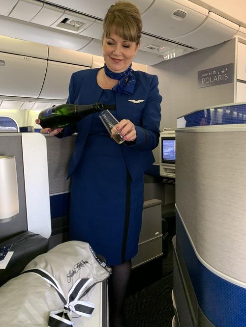 United Polaris champagne