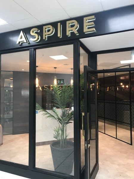 new Aspire lounge Edinburgh airport
