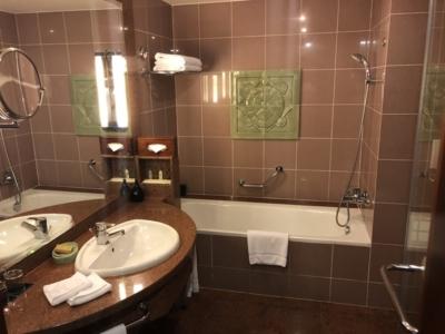 Hilton Hanoi Opera bathroom