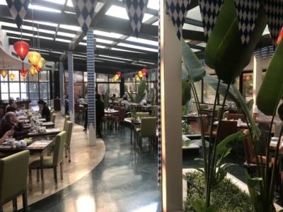 Hilton Hanoi Opera breakfast buffet