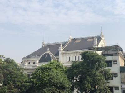 Hilton Hanoi Opera view
