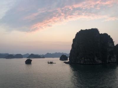 Paradise Cruises Halong Bay sunset