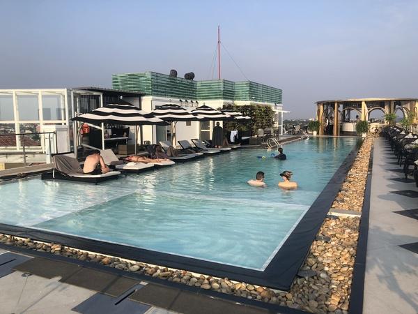 Sofitel Hotel Royal Hoi An pool