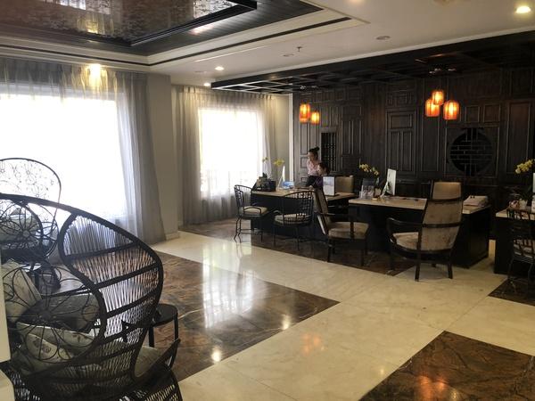Sofitel Hotel Royal Hoi An reception