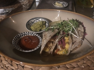 Sailing Club Mui Ne prawn tacos