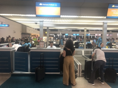 Vietnam Airlines business class check in