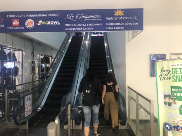 Vietnam Airlines Lotus Lounge review Ho Chi Minh