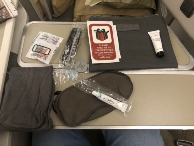 Vietnam Airlines business class amenity kit