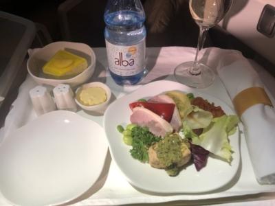 Vietnam Airlines business class dinner starter