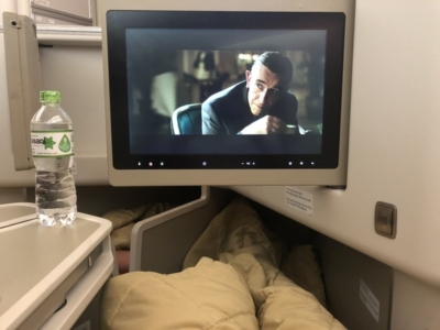 Vietnam Airlines business class ife