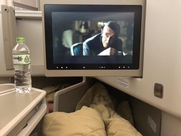 Vietnam Airlines business class ife