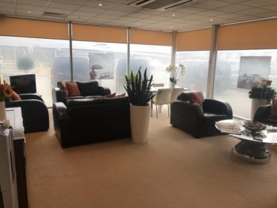 Signature Elite Class Gatwick Private jet terminal experience lounge