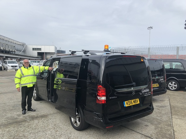 Signature Elite Class Gatwick Private jet terminal experience transfer car