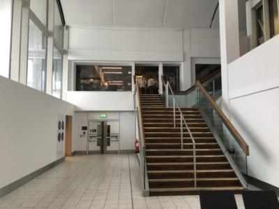 Lomond Lounge Glasgow Airport entrance