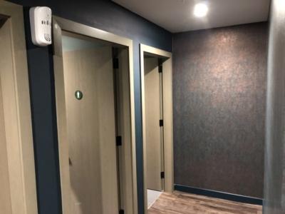 Lomond Lounge Glasgow Airport toilets