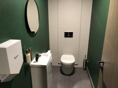 Lomond Lounge Glasgow Airport toilet