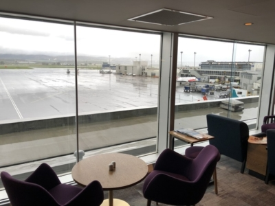 Lomond Lounge Glasgow Airport view