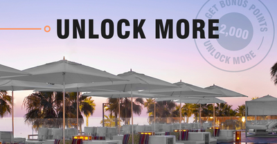 Marriott Bonvoy Unlock More promotion
