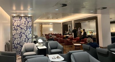 British Airways new Milan Linate lounge