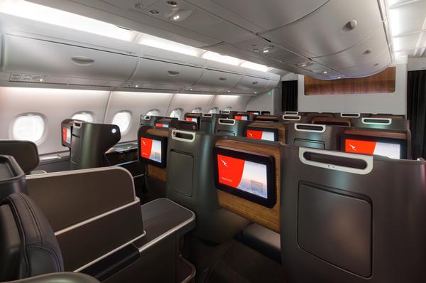 Qatnas refurbished A380 business suite