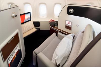Qatnas refurbished A380 first class