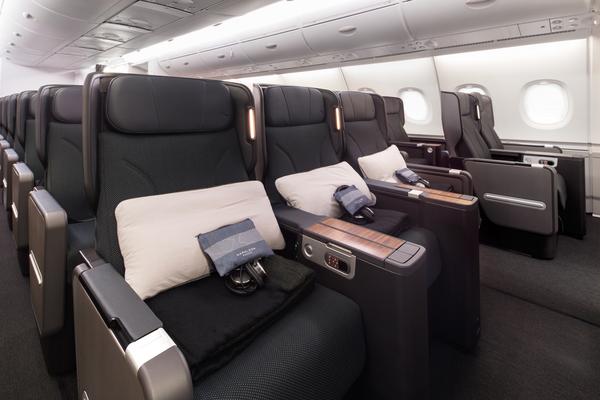 Qatnas refurbished A380 premium economy