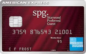 Starwood American Express benefits