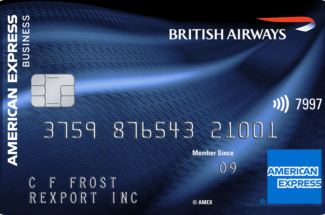 British Airways Accelerating Business American Express card