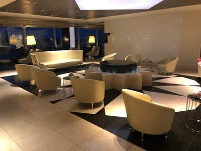 Qatar Airways Premium Lounge London Heathrow Terminal 4 review