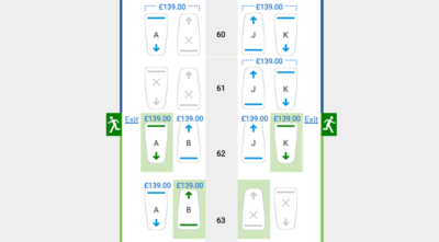 British Airways seat reservation fees