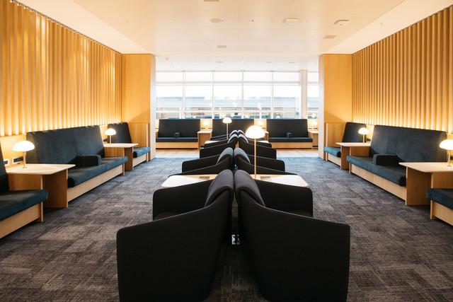 British Airways lounge Geneva Airport