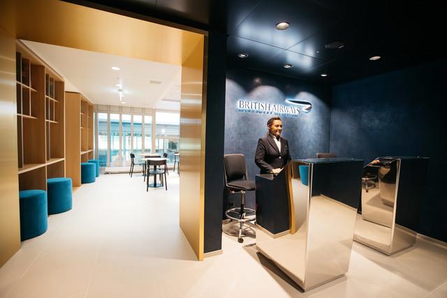 New British Airways lounge in Geneva Airport