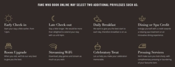 Fans of Mandarin Oriental direct booking benefits