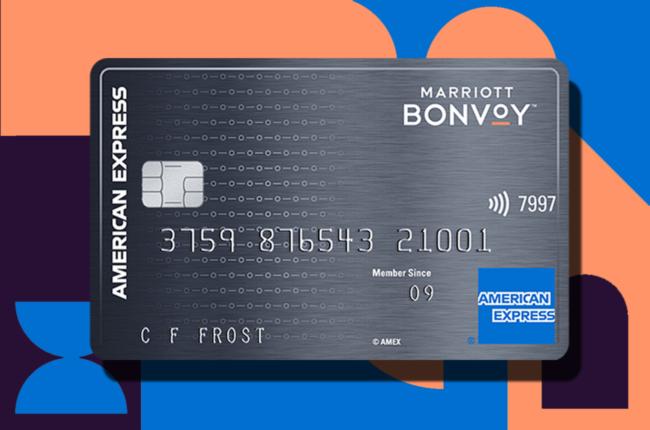 Mariott Bonvoy American Express credit card