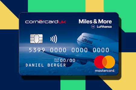 Lufthansa Miles & More mastercard credit card uk