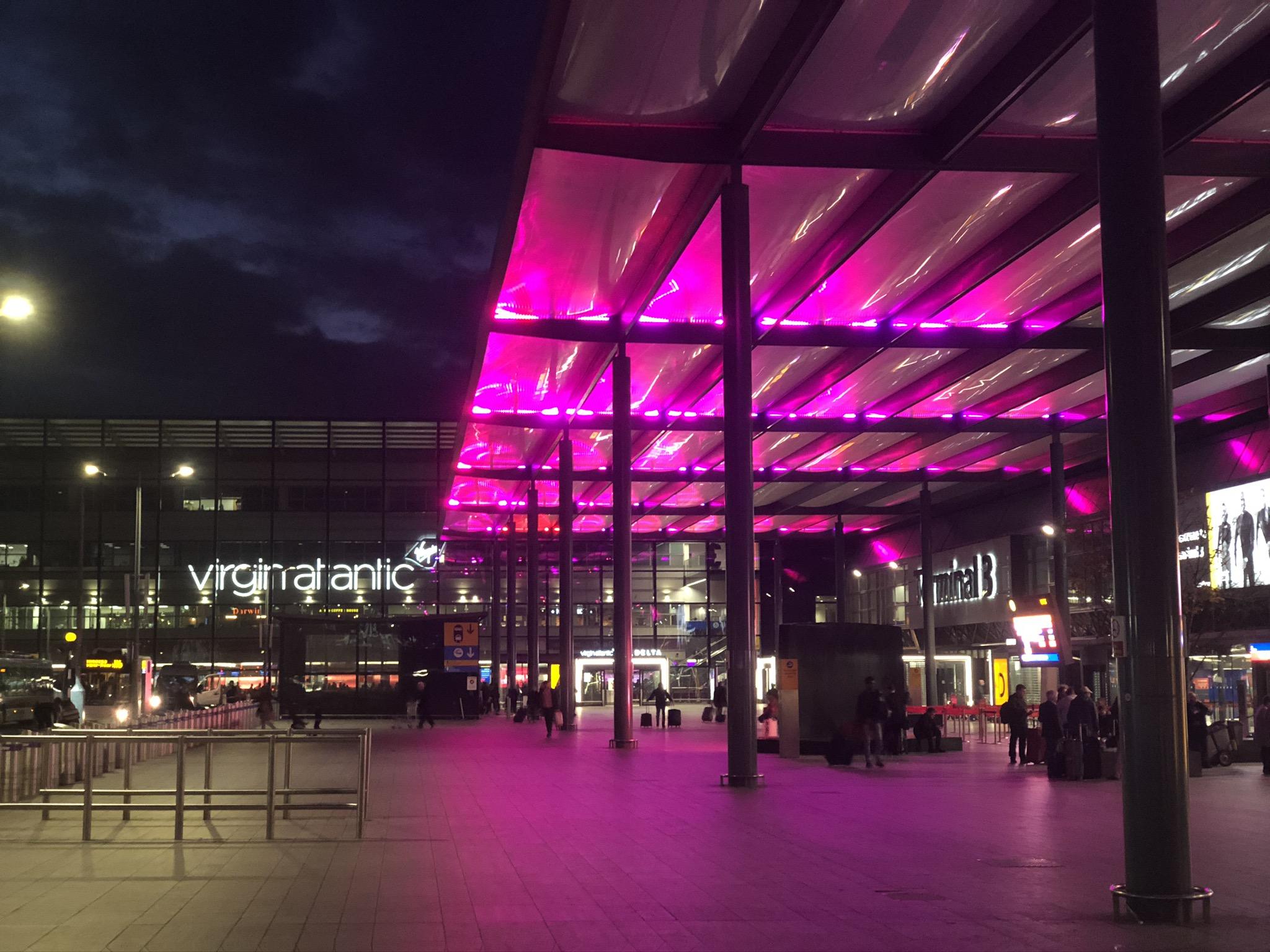 Heathrow Terminal 3 Virgin
