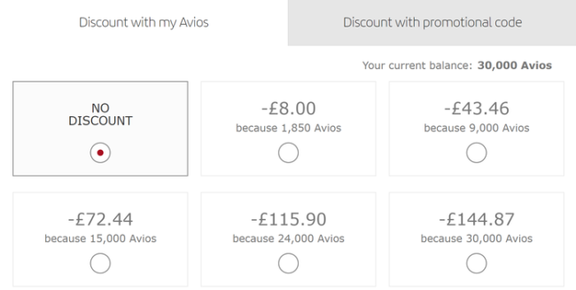 Part Pay With Avios on Iberia
